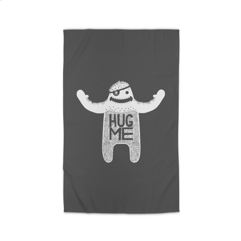 Hug Me Yeti Home Rug by The Illustration Booth Shop