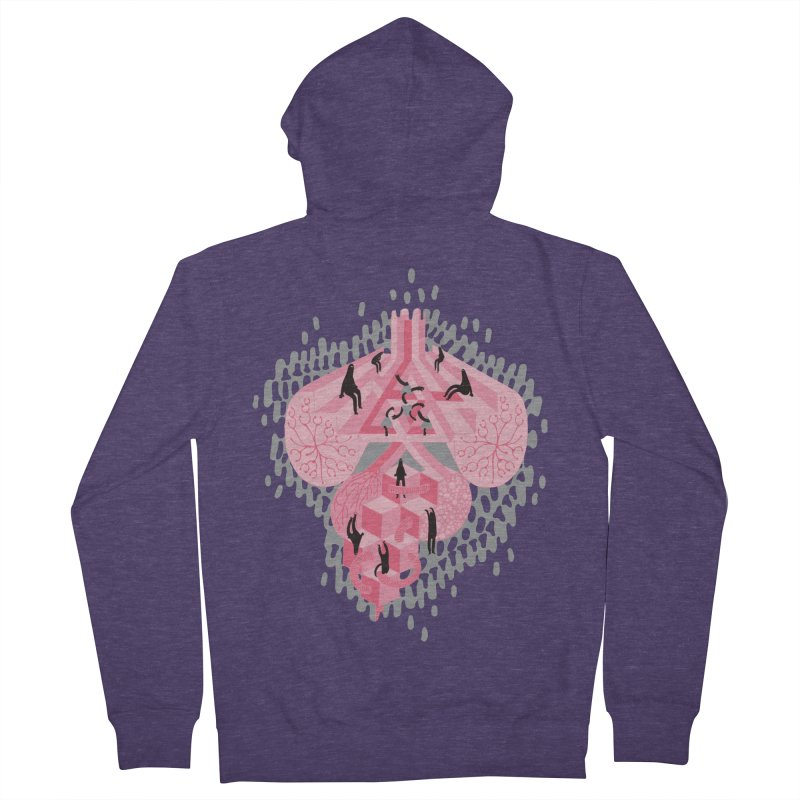 I'm Complicated Men's Zip-Up Hoody by The Illustration Booth Shop