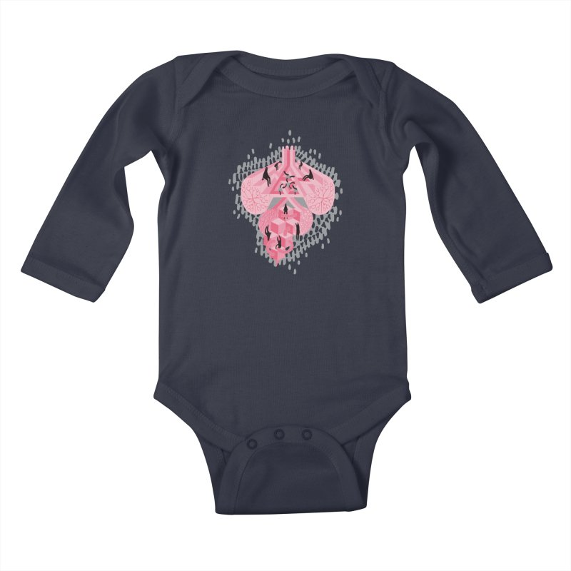 I'm Complicated Kids Baby Longsleeve Bodysuit by The Illustration Booth Shop