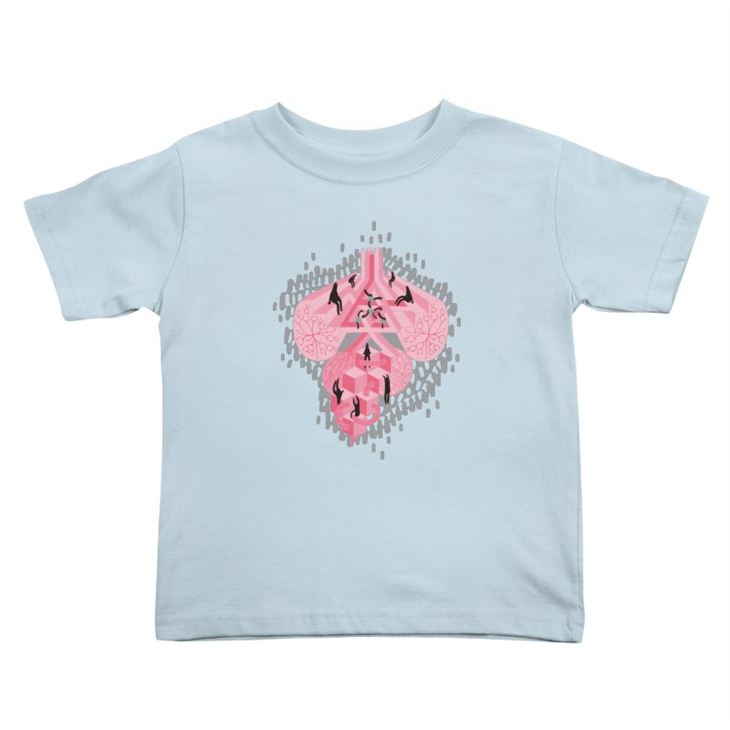 I'm Complicated Kids Toddler T-Shirt by The Illustration Booth Shop