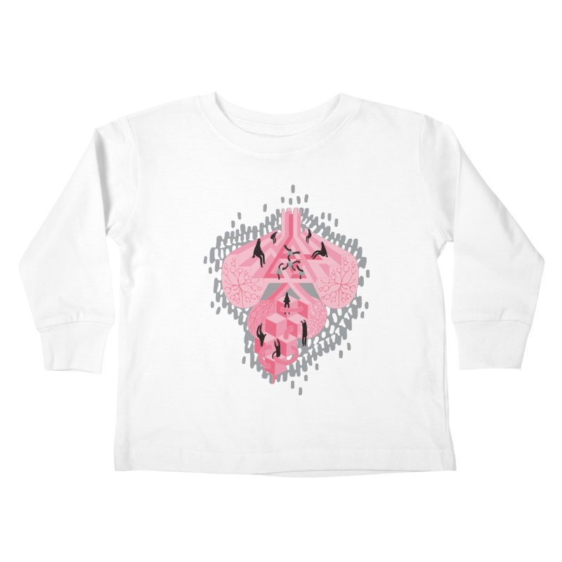 I'm Complicated Kids Toddler Longsleeve T-Shirt by The Illustration Booth Shop