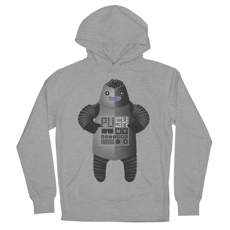 Push My Buttons Women's Pullover Hoody by The Illustration Booth Shop