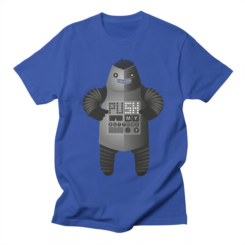 Push My Buttons Women's Unisex T-Shirt by The Illustration Booth Shop