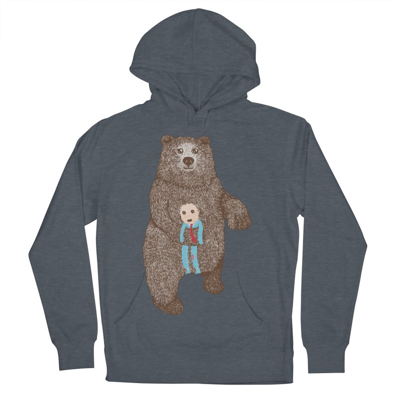 A Bear's Best Friend Women's Pullover Hoody by The Illustration Booth Shop
