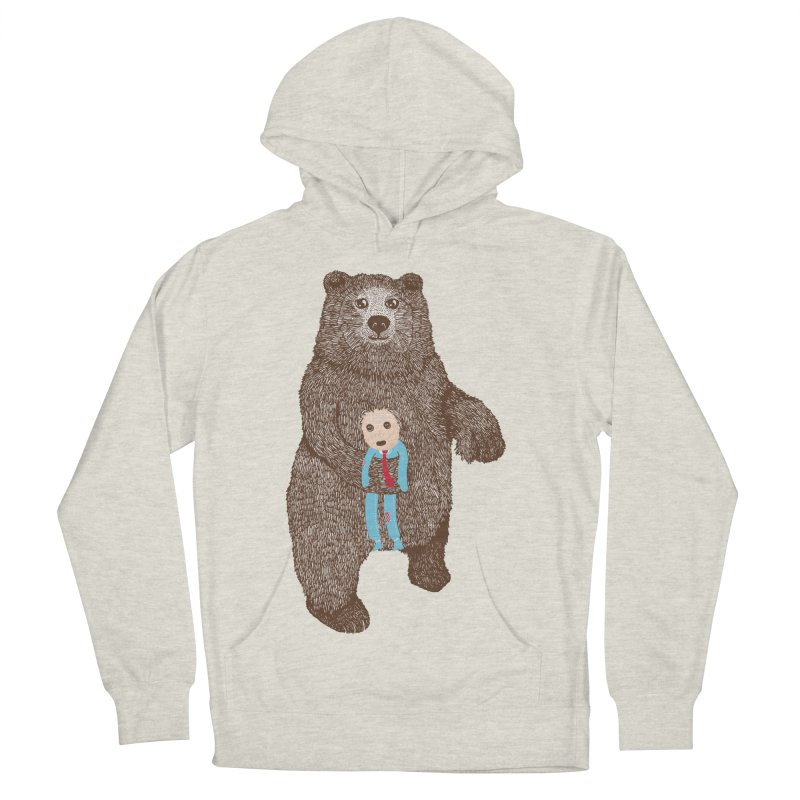 A Bear's Best Friend Men's Pullover Hoody by The Illustration Booth Shop