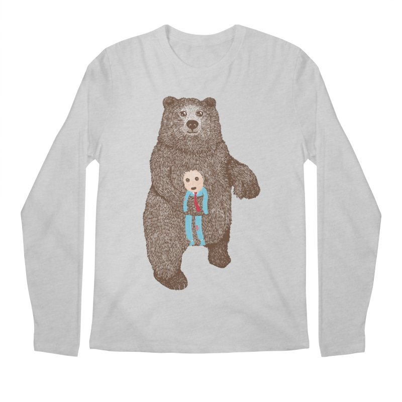 A Bear's Best Friend Men's Longsleeve T-Shirt by The Illustration Booth Shop