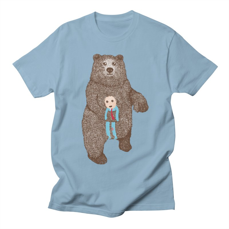 A Bear's Best Friend Men's T-Shirt by The Illustration Booth Shop