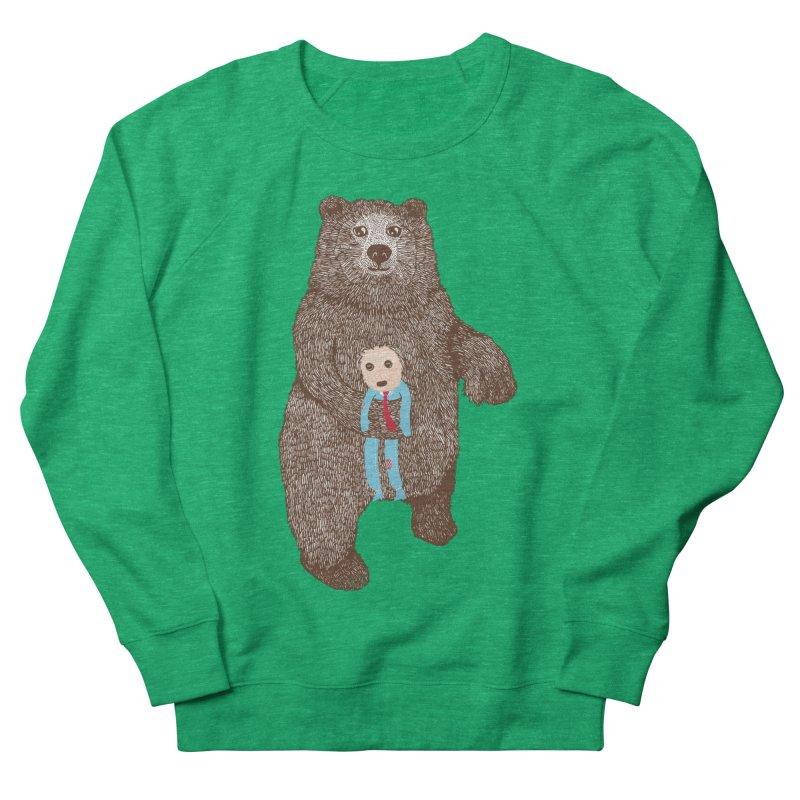 A Bear's Best Friend Women's Sweatshirt by The Illustration Booth Shop