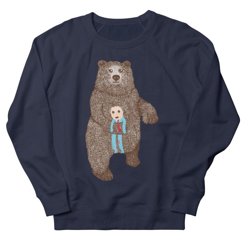 A Bear's Best Friend Men's Sweatshirt by The Illustration Booth Shop