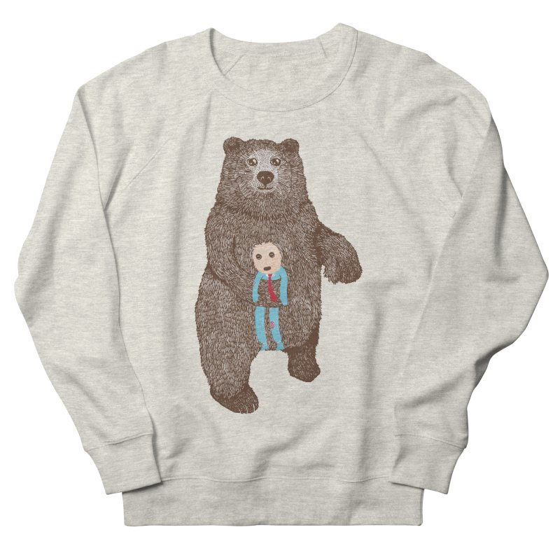 A Bear's Best Friend Men's Sweatshirt by The Illustration Booth Shop