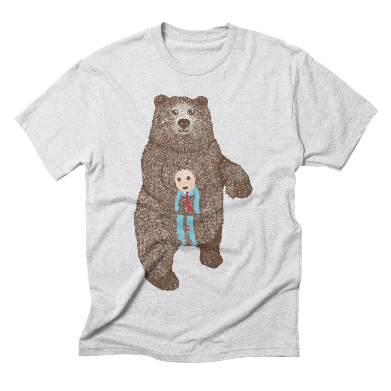 A Bear's Best Friend Men's Triblend T-Shirt by The Illustration Booth Shop