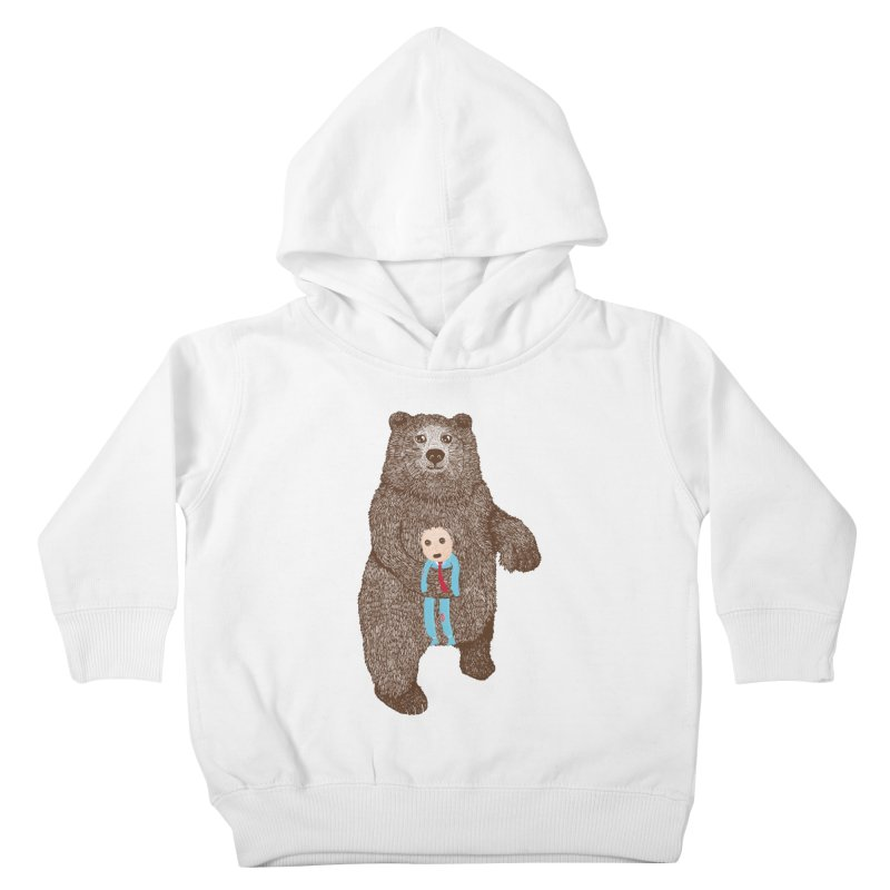 A Bear's Best Friend Kids Toddler Pullover Hoody by The Illustration Booth Shop