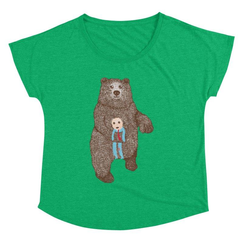 A Bear's Best Friend Women's Dolman by The Illustration Booth Shop