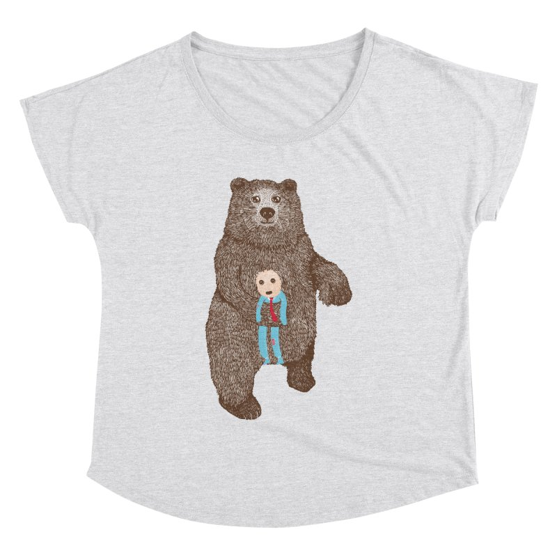 A Bear's Best Friend Women's Dolman by The Illustration Booth Shop