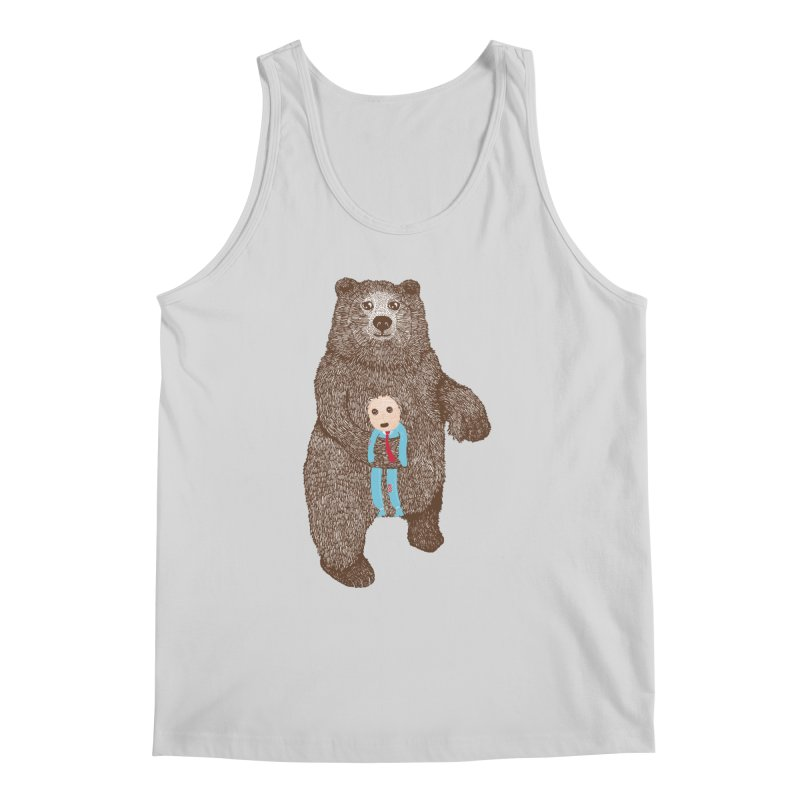 A Bear's Best Friend Men's Tank by The Illustration Booth Shop