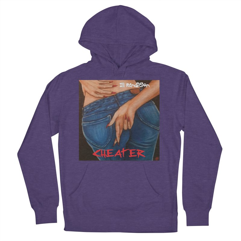 Cheater Women's French Terry Pullover Hoody by illrendition's Artist Shop
