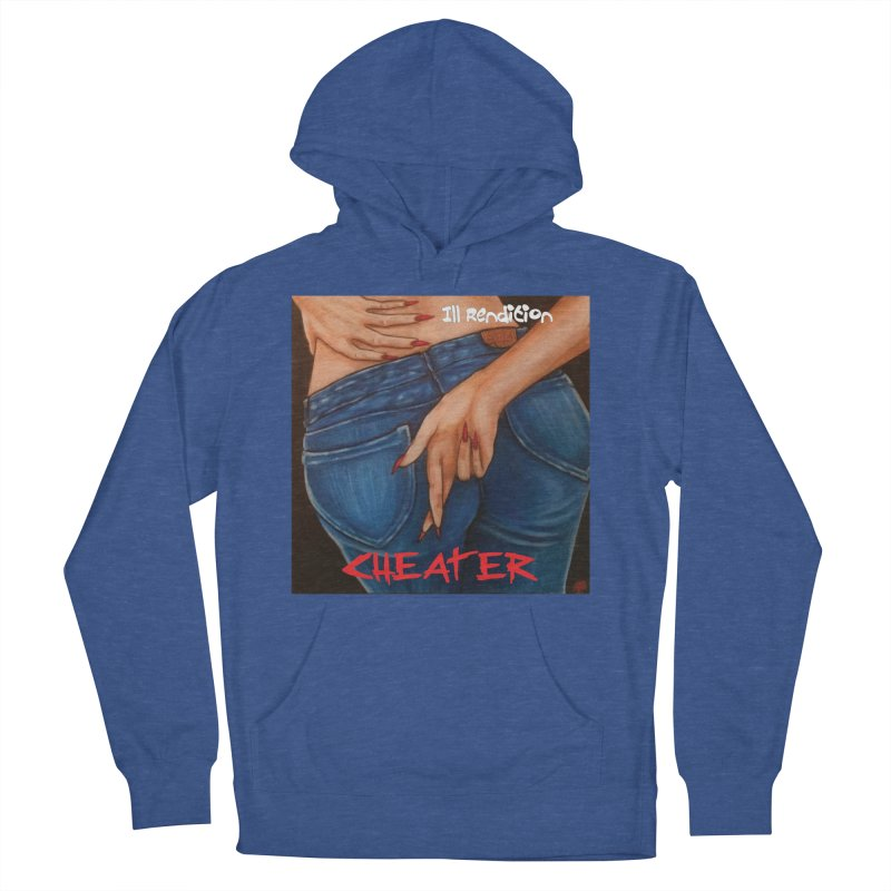 Cheater Men's French Terry Pullover Hoody by illrendition's Artist Shop