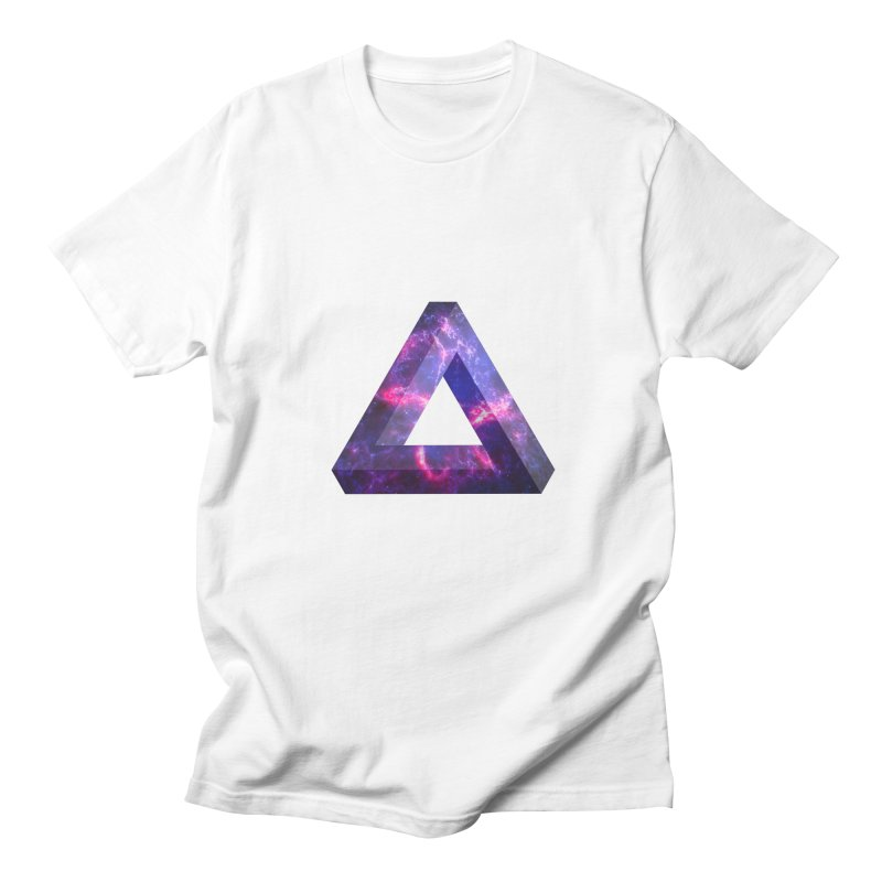 Impossible Triangle  Men's T-Shirt by illusionist's Artist Shop