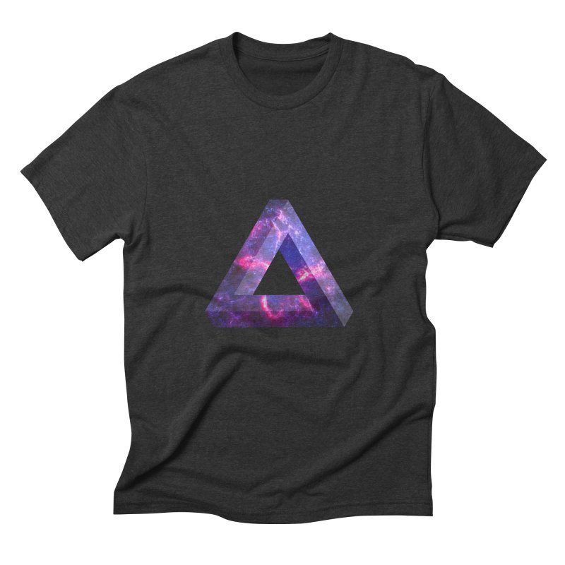Impossible Triangle  Men's Triblend T-shirt by illusionist's Artist Shop