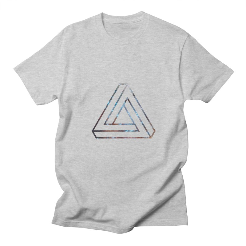 Impossible Triangle Lines Men's T-Shirt by illusionist's Artist Shop