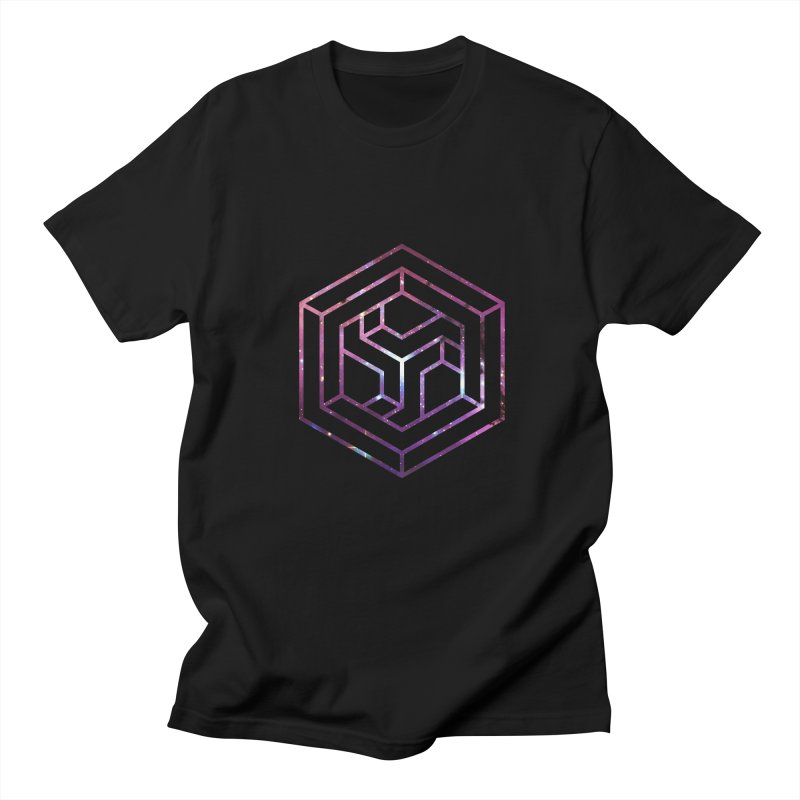 Impossible Galaxy Lines Men's T-Shirt by illusionist's Artist Shop