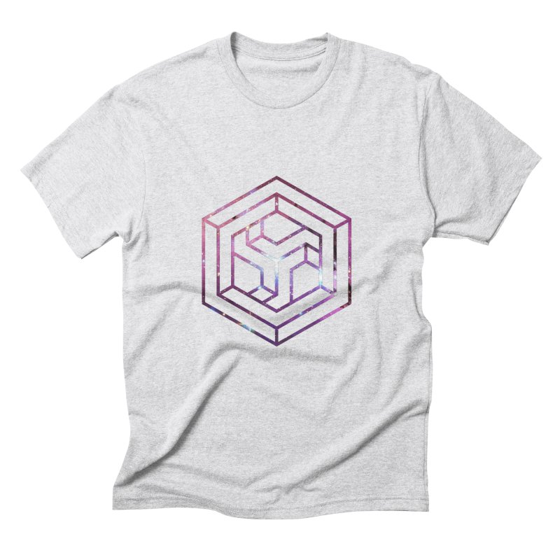 Impossible Galaxy Lines Men's Triblend T-Shirt by illusionist's Artist Shop