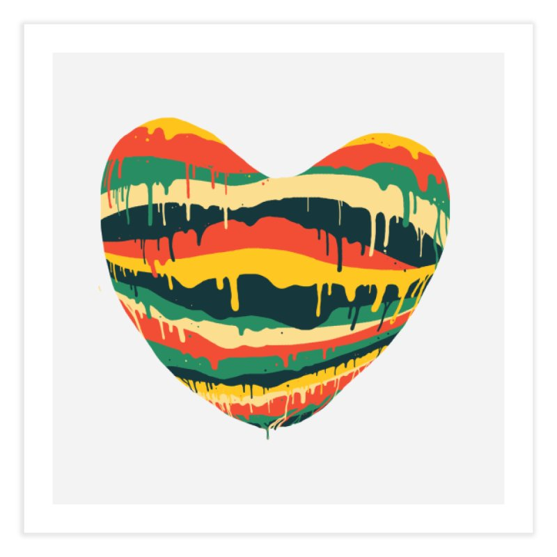 overlove Home Fine Art Print by illustraboy's Artist Shop