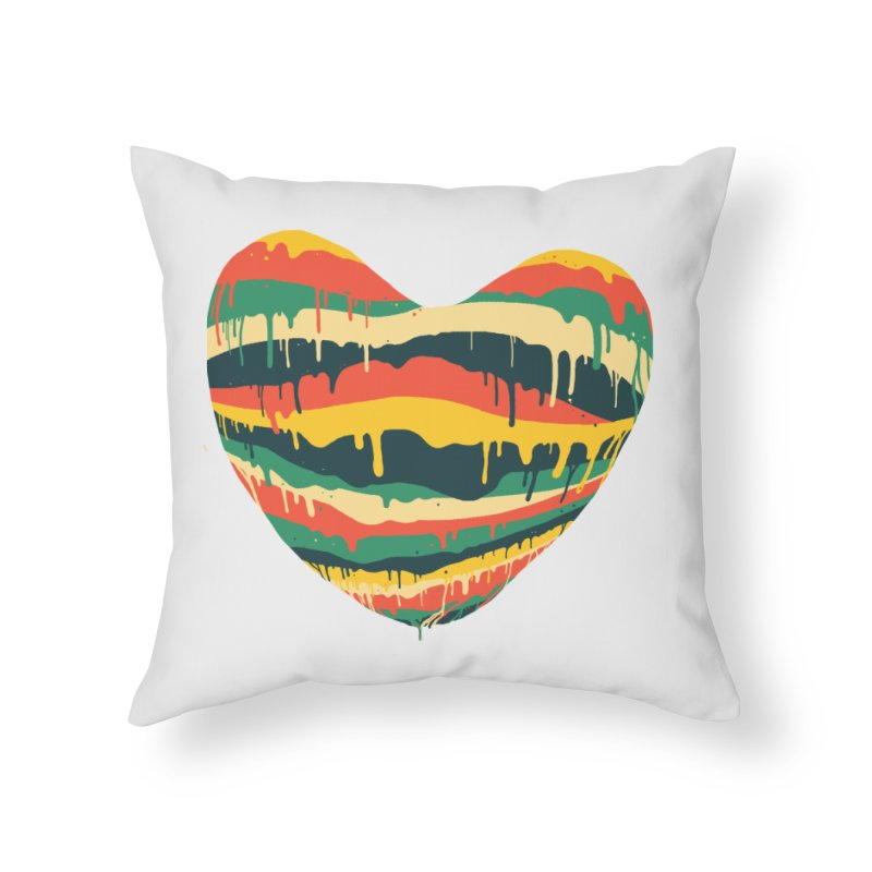 overlove Home Throw Pillow by illustraboy's Artist Shop