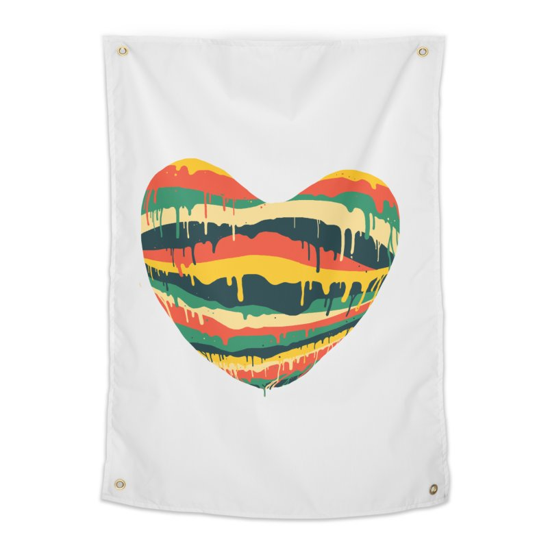 overlove Home Tapestry by illustraboy's Artist Shop
