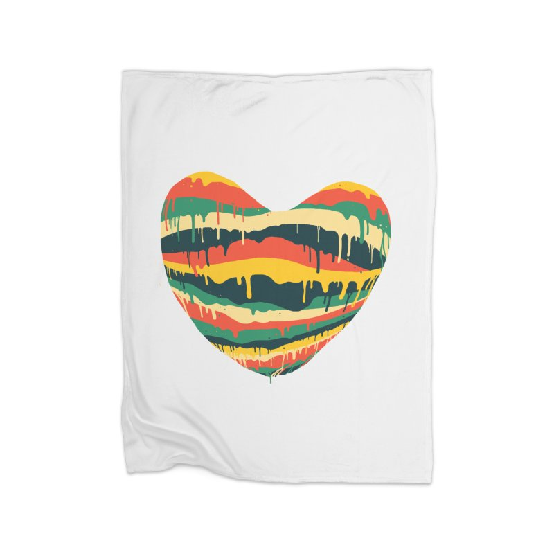 overlove Home Blanket by illustraboy's Artist Shop