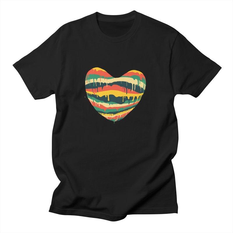overlove Men's T-Shirt by illustraboy's Artist Shop