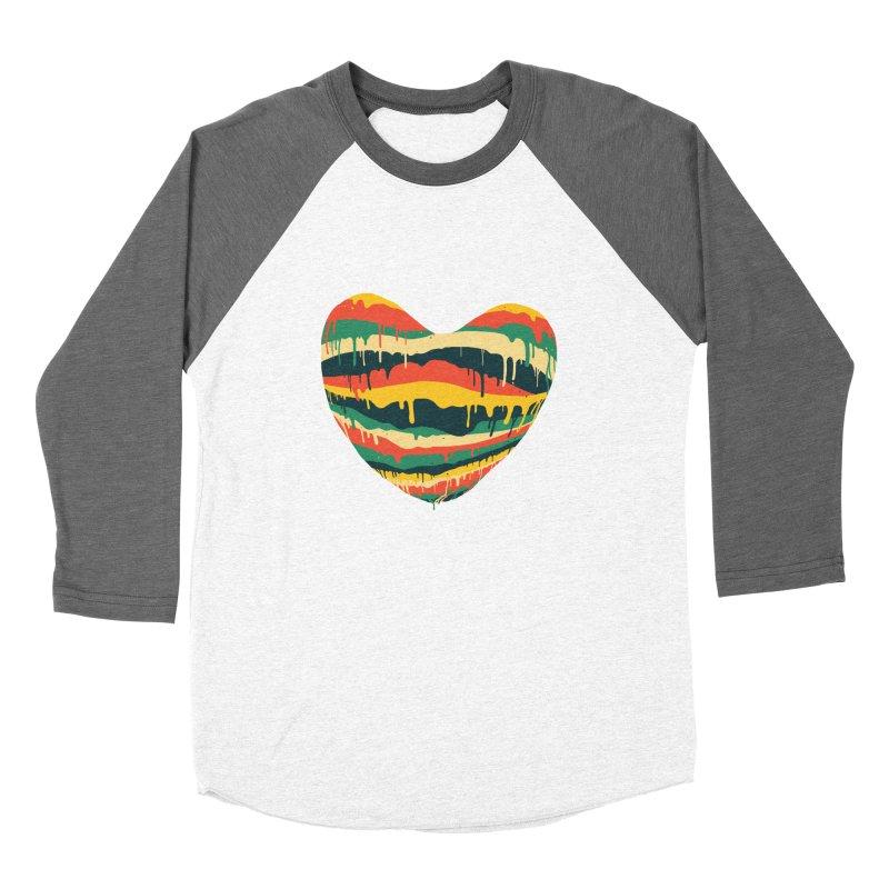overlove Men's Baseball Triblend T-Shirt by illustraboy's Artist Shop