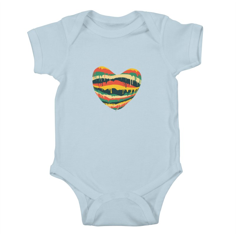 overlove Kids Baby Bodysuit by illustraboy's Artist Shop
