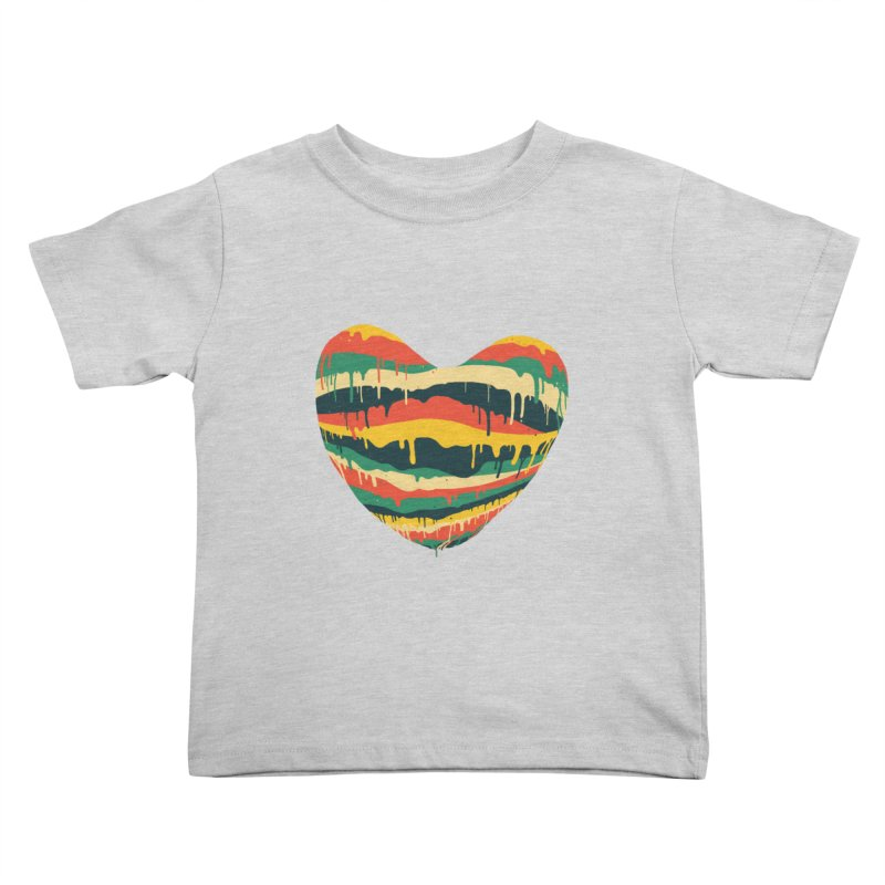 overlove Kids Toddler T-Shirt by illustraboy's Artist Shop