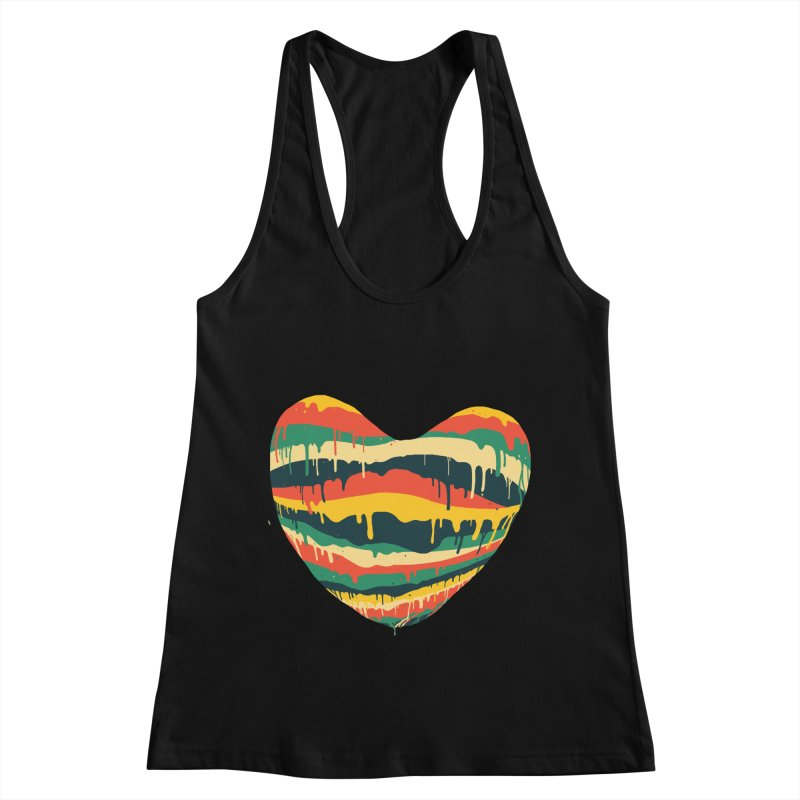 overlove Women's Racerback Tank by illustraboy's Artist Shop