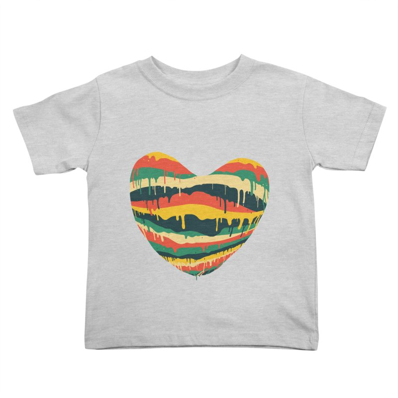 overlove Kids Toddler T-Shirt by illustraboy's Artist Shop