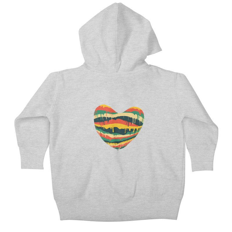 overlove Kids Baby Zip-Up Hoody by illustraboy's Artist Shop