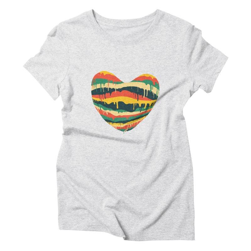 overlove Women's Triblend T-Shirt by illustraboy's Artist Shop