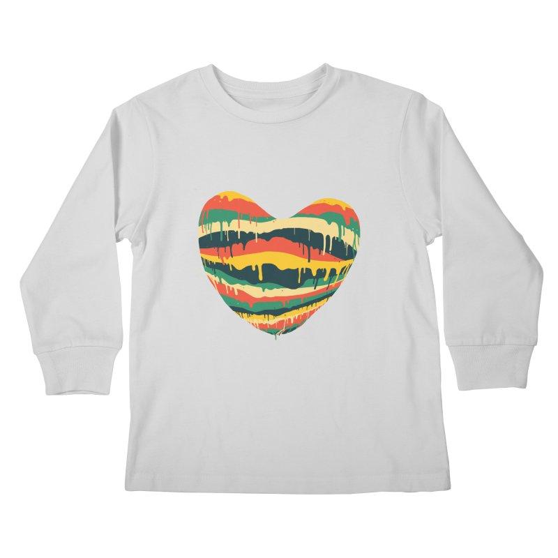 overlove Kids Longsleeve T-Shirt by illustraboy's Artist Shop