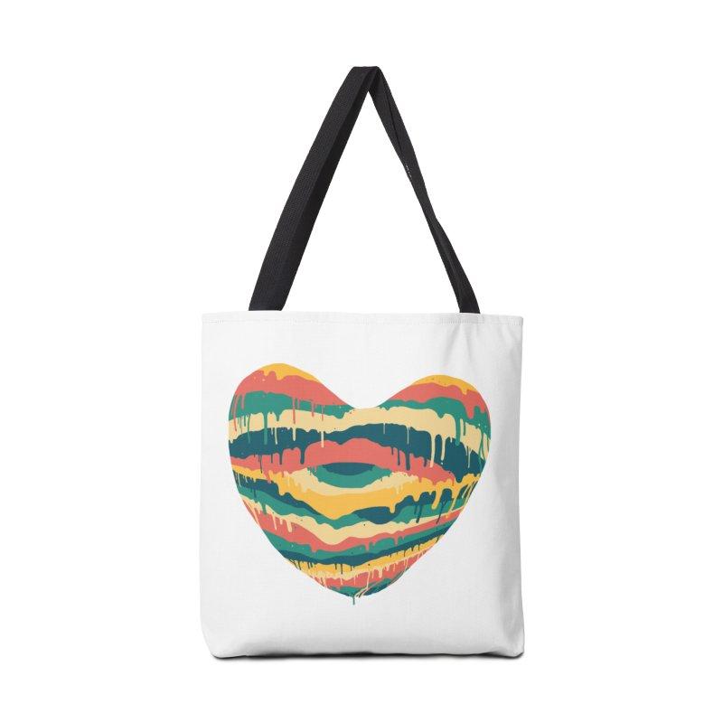 Clear eye full heart Accessories Bag by illustraboy's Artist Shop