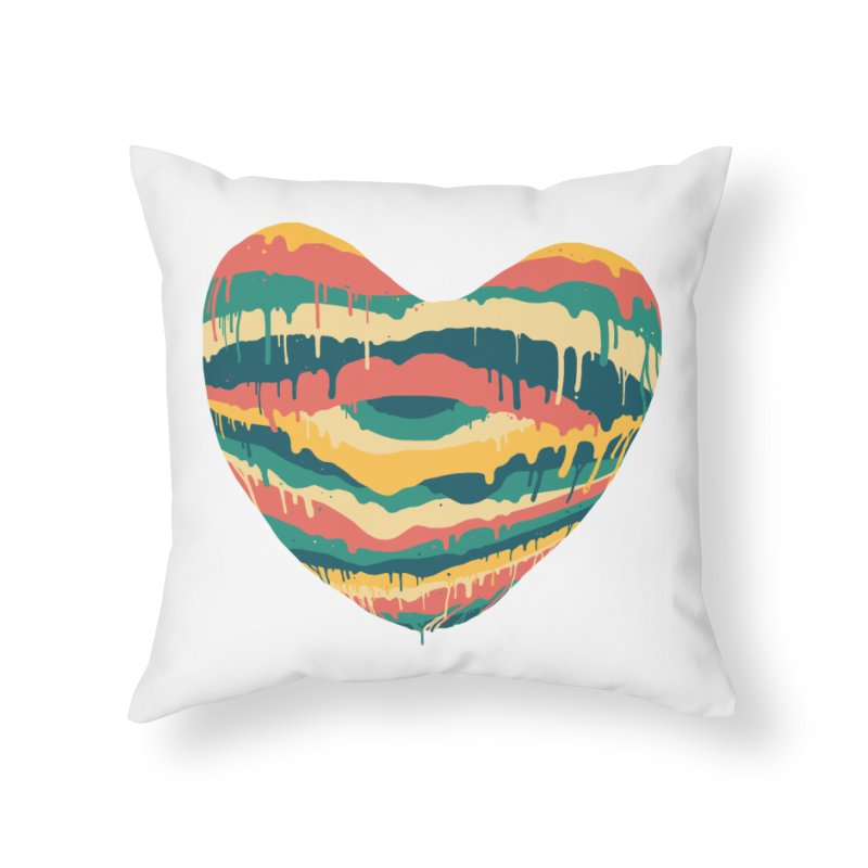 Clear eye full heart Home Throw Pillow by illustraboy's Artist Shop