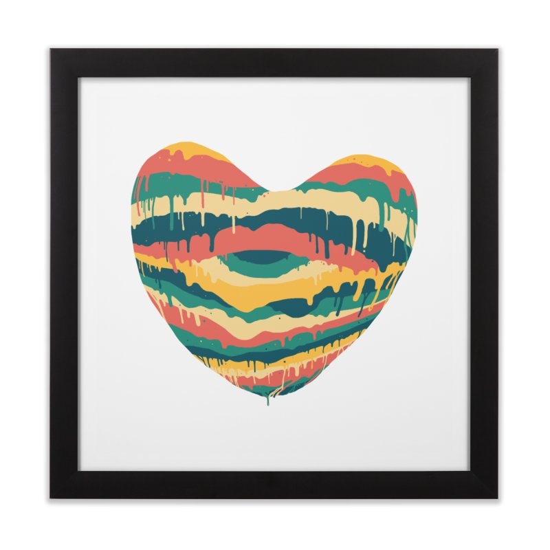 Clear eye full heart Home Framed Fine Art Print by illustraboy's Artist Shop