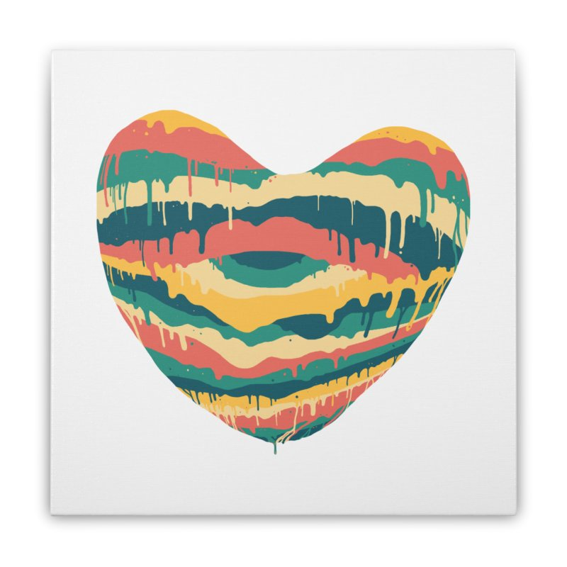 Clear eye full heart Home Stretched Canvas by illustraboy's Artist Shop