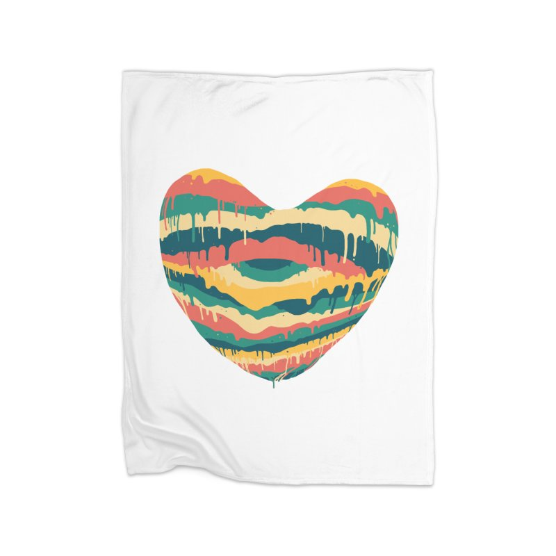Clear eye full heart Home Fleece Blanket Blanket by illustraboy's Artist Shop