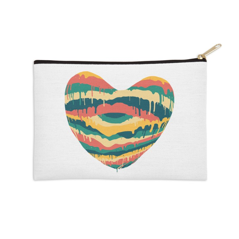 Clear eye full heart Accessories Zip Pouch by illustraboy's Artist Shop