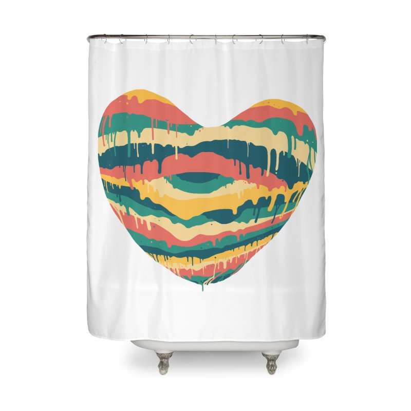 Clear eye full heart Home Shower Curtain by illustraboy's Artist Shop