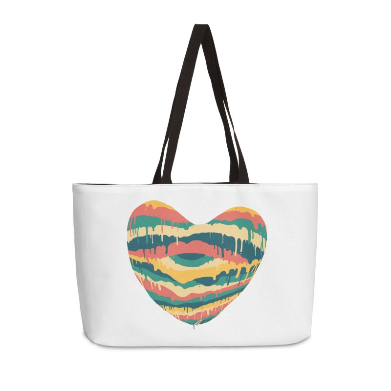 Clear eye full heart Accessories Weekender Bag Bag by illustraboy's Artist Shop