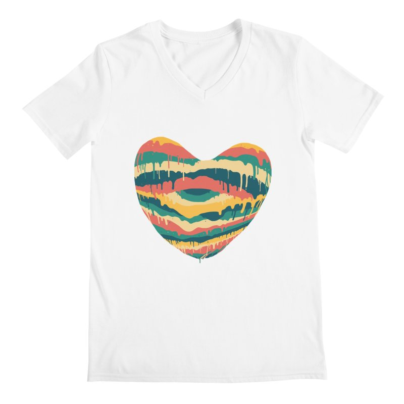 Clear eye full heart Men's V-Neck by illustraboy's Artist Shop