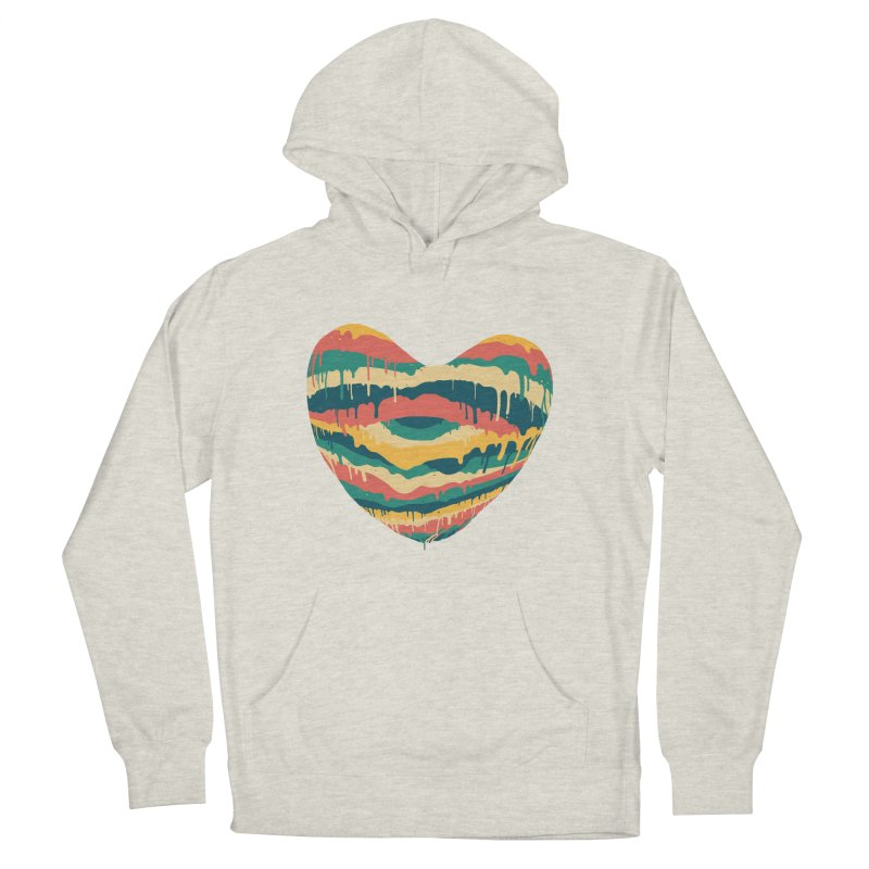 Clear eye full heart Men's French Terry Pullover Hoody by illustraboy's Artist Shop