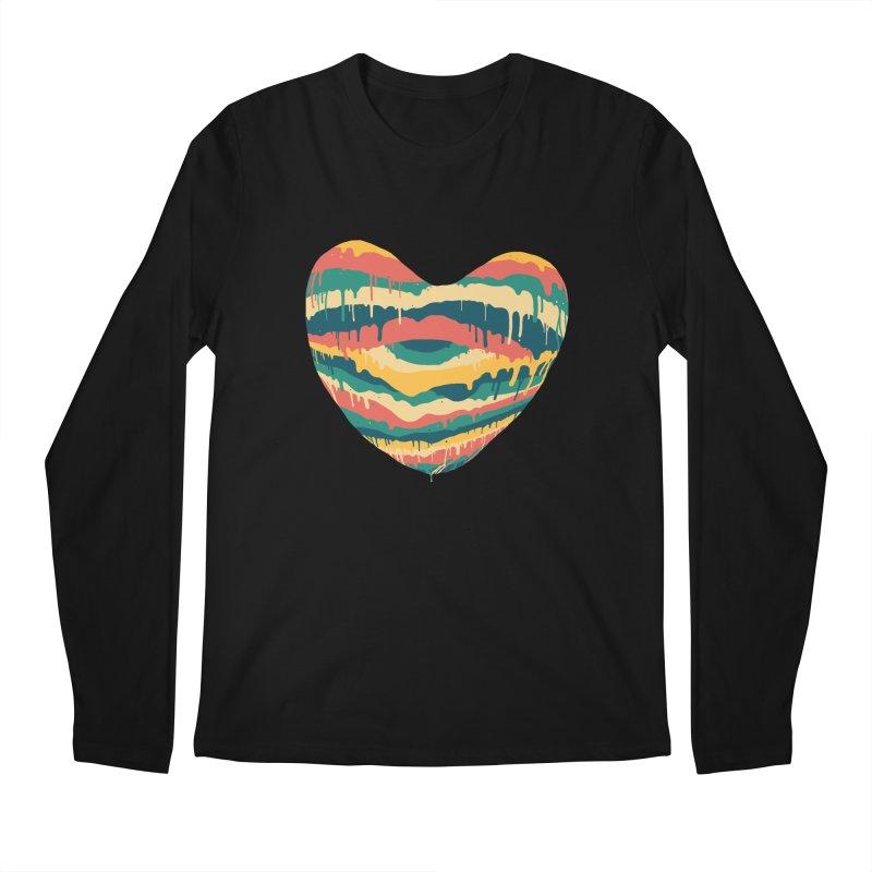 Clear eye full heart Men's Longsleeve T-Shirt by illustraboy's Artist Shop